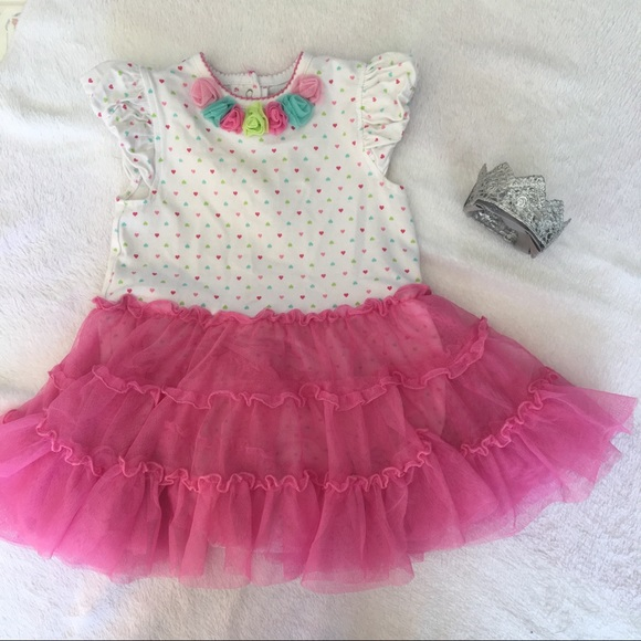 Little Me Other - Little Me 24 Month Pink Tulle Dress